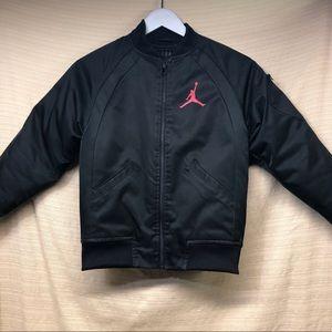 Nike Air Jordan Puffer Bomber Jacket Coat Zipper